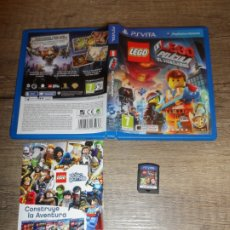 Videojuegos y Consolas PS Vita: PSVITA LEGO LA LEGO PELÍCULA PAL ESP COMPLETO. Lote 176232398