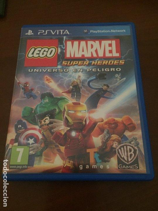 LEGO MARVEL SUPER HÉROES PSVITA (Juguetes - Videojuegos y Consolas - Sony - PS Vita)
