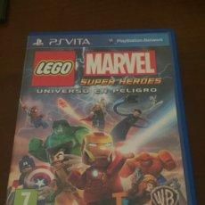 Jeux Vidéo et Consoles: LEGO MARVEL SUPER HÉROES PSVITA. Lote 176285668