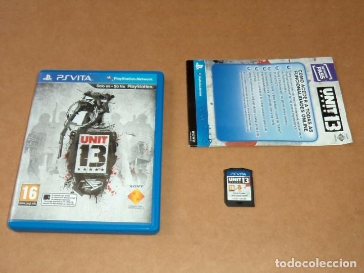 UNIT 13 PARA SONY PSVITA / VITA , PAL (Juguetes - Videojuegos y Consolas - Sony - PS Vita)