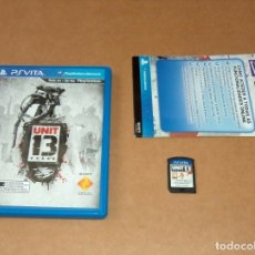 Videojuegos y Consolas PS Vita: UNIT 13 PARA SONY PSVITA / VITA , PAL. Lote 179963330