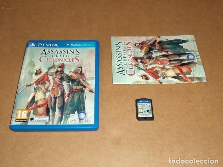 ASSASIN'S CREED : CHRONICLES PARA SONY PSVITA / VITA , PAL (Juguetes - Videojuegos y Consolas - Sony - PS Vita)