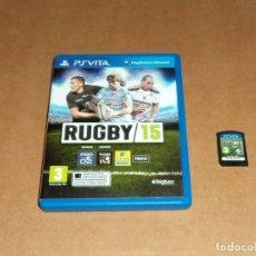 Videojuegos y Consolas PS Vita: RUGBY 15 PARA SONY PSVITA / VITA , PAL. Lote 179963996