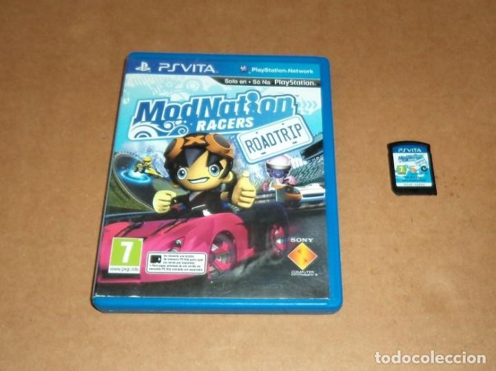 MODNATION RACERS: ROAD TRIP PARA SONY PSVITA / VITA , PAL (Juguetes - Videojuegos y Consolas - Sony - PS Vita)