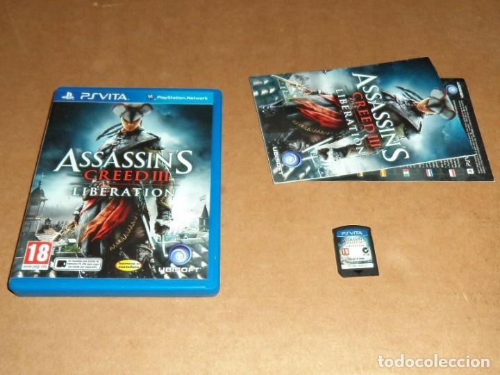 ASSASSIN'S CREED III : LIBERATION PARA SONY PSVITA / VITA , PAL (Juguetes - Videojuegos y Consolas - Sony - PS Vita)