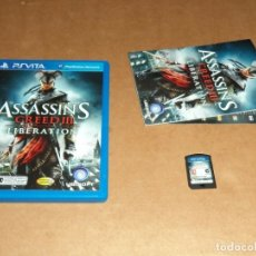 Jeux Vidéo et Consoles: ASSASSIN'S CREED III : LIBERATION PARA SONY PSVITA / VITA , PAL. Lote 179964127