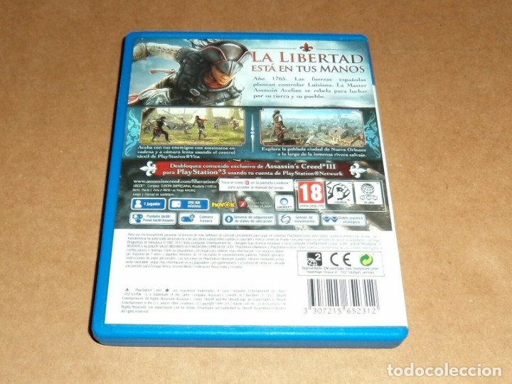 Videojuegos y Consolas PS Vita: Assassin's Creed III : Liberation para Sony PSVita / Vita , Pal - Foto 2 - 179964127