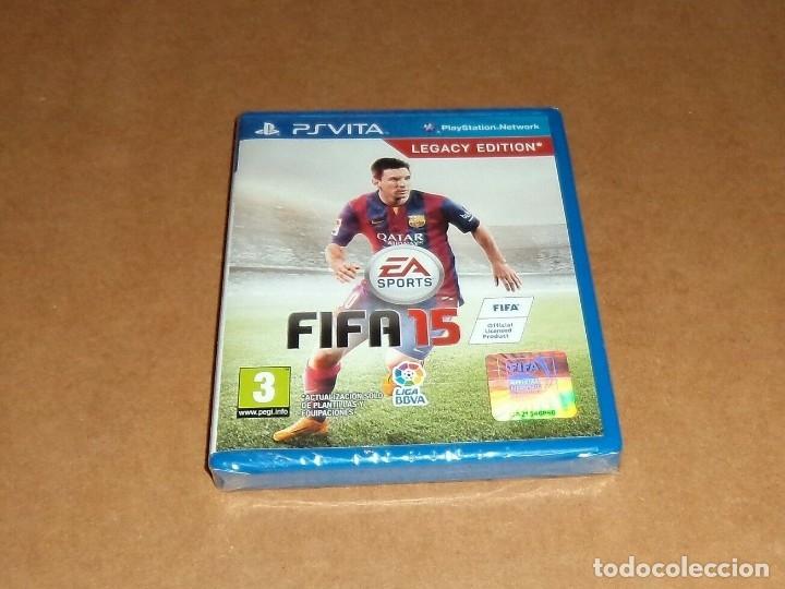 FIFA 15 , A ESTRENAR PARA SONY PSVITA / VITA (Juguetes - Videojuegos y Consolas - Sony - PS Vita)