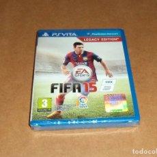 Videojuegos y Consolas PS Vita: FIFA 15 , A ESTRENAR PARA SONY PSVITA / VITA. Lote 179964385
