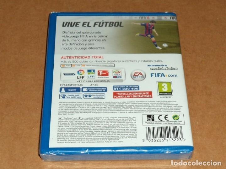 Videojuegos y Consolas PS Vita: Fifa 15 , a estrenar para Sony PSVita / Vita - Foto 2 - 179964385
