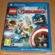 Videojuegos y Consolas PS Vita: LEGO MARVEL VENGADORES , A ESTRENAR PARA SONY PSVITA / VITA. Lote 179964425