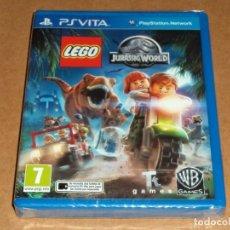 Videojuegos y Consolas PS Vita: LEGO JURASSIC WORLD , A ESTRENAR PARA SONY PSVITA / VITA. Lote 179964766