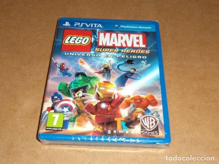 LEGO MARVEL SUPER HEROES : U. EN PELIGRO , A ESTRENAR PARA SONY PSVITA / VITA (Juguetes - Videojuegos y Consolas - Sony - PS Vita)