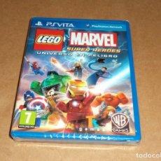Videojuegos y Consolas PS Vita: LEGO MARVEL SUPER HEROES : U. EN PELIGRO , A ESTRENAR PARA SONY PSVITA / VITA. Lote 179979932