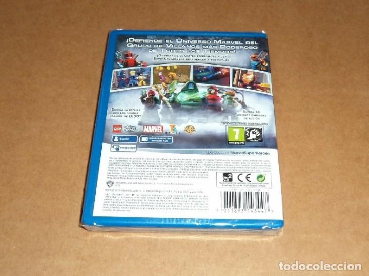 Videojuegos y Consolas PS Vita: Lego Marvel Super Heroes : U. En Peligro , a estrenar para Sony PSVita / Vita - Foto 2 - 179979932