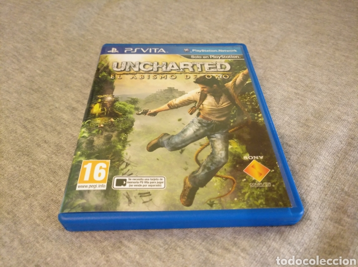 UNCHARTED EL ABISMO DE ORO PS VITA (Juguetes - Videojuegos y Consolas - Sony - PS Vita)