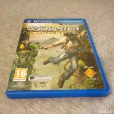 Jeux Vidéo et Consoles: UNCHARTED EL ABISMO DE ORO PS VITA. Lote 181135957