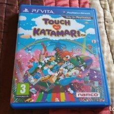 Videojuegos y Consolas PS Vita: TOUCH MY KATAMARI PS VITA PAL ESPAÑA NAMCO. Lote 182161030