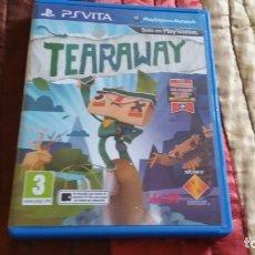 Videojuegos y Consolas PS Vita: TEARAWAY PS VITA PAL ESPAÑA . Lote 182161272