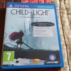 Videojuegos y Consolas PS Vita: CHILD OF LIGHT COMPLETE EDITION PS VITA PAL ESPAÑA JOYA. Lote 182161928
