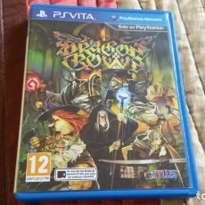 Videojuegos y Consolas PS Vita: DRAGON CROWN PS VITA PAL ESPAÑA ATLUS. Lote 182162266