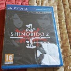 Videojuegos y Consolas PS Vita: SHINOBIDO 2 REVENGE ZEN PS VITA PAL ESPAÑA PRECINTADO. Lote 182162636