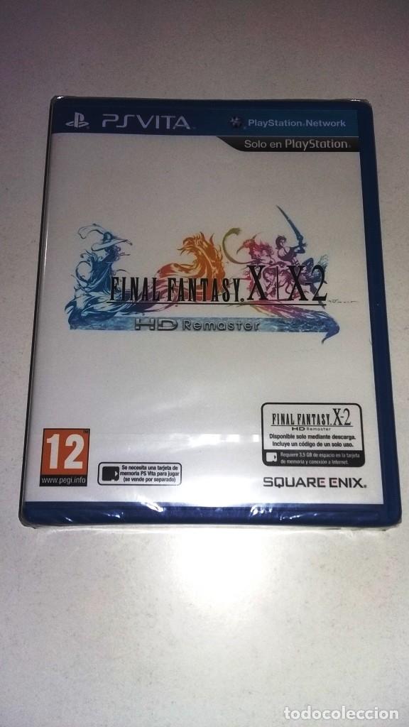 FINAL FANTASY X/X2 PSVITA PRECINTADO (Juguetes - Videojuegos y Consolas - Sony - PS Vita)