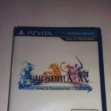 Videojuegos y Consolas PS Vita: FINAL FANTASY X/X2 PSVITA PRECINTADO. Lote 182314296