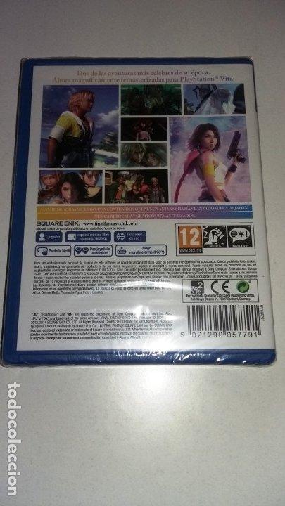 Videojuegos y Consolas PS Vita: Final Fantasy X/X2 PSVita Precintado - Foto 2 - 182314296