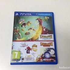 Videojuegos y Consolas PS Vita: RAYMAN LEGENDS + RAYMAN ORIGINS. Lote 183166132
