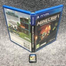 Videojuegos y Consolas PS Vita: MINECRAFT SONY PSVITA. Lote 183323231