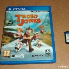 Videojuegos y Consolas PS Vita: TADEO JONES PARA SONY PSVITA / VITA , PAL. Lote 184530942