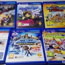 Videojuegos y Consolas PS Vita: LOTE / PACK 6 JUEGOS SONY PS VITA ( ENVIO GRATUITO CERTIFICADO). Lote 184869798