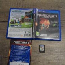 Videojuegos y Consolas PS Vita: PSVITA MINECRAFT PAL ESP COMPLETO. Lote 184871627