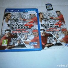 Videojuegos y Consolas PS Vita: VIRTUA TENNIS 4 EDITION WORLD TOUR PS VITA . Lote 185935607