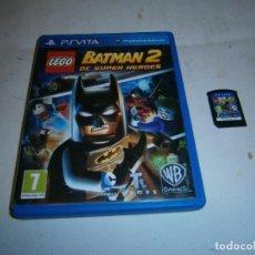 Videojuegos y Consolas PS Vita: LEGO BATMAN 2 DC SUPER HEROES PLAYSTATION PS VITA . Lote 185936691