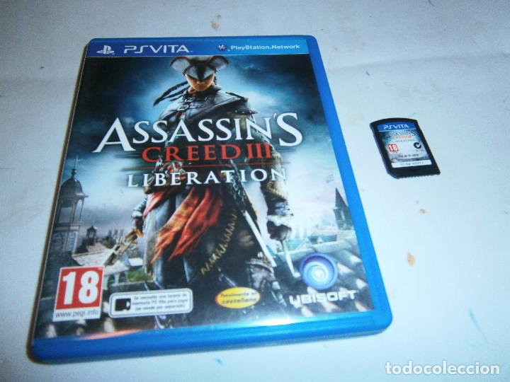 Assassin S Creed Iii Liberation Playstation Ps Buy Video Games