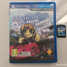 Videojuegos y Consolas PS Vita: MODNATION RACERS RAODTRIP MOD NATION RACER PSVITA PS VITA PLAYSTATION KREATEN. Lote 192595835