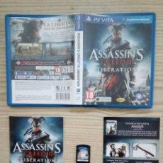 Videojuegos y Consolas PS Vita: JUEGO PS VITA - ASSASSIN'S CREED III LIBERATION. Lote 192982622