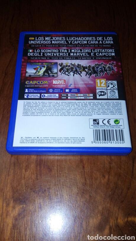 Videojuegos y Consolas PS Vita: PS VITA ULTIMATE MARVEL VS. CAPCOM 3 PAL ESP/ITA - Foto 2 - 193017040