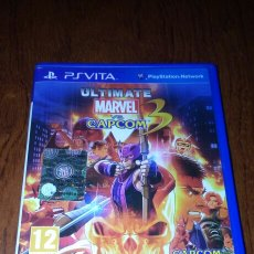 Videojuegos y Consolas PS Vita: PS VITA ULTIMATE MARVEL VS. CAPCOM 3 PAL ESP/ITA. Lote 193017040