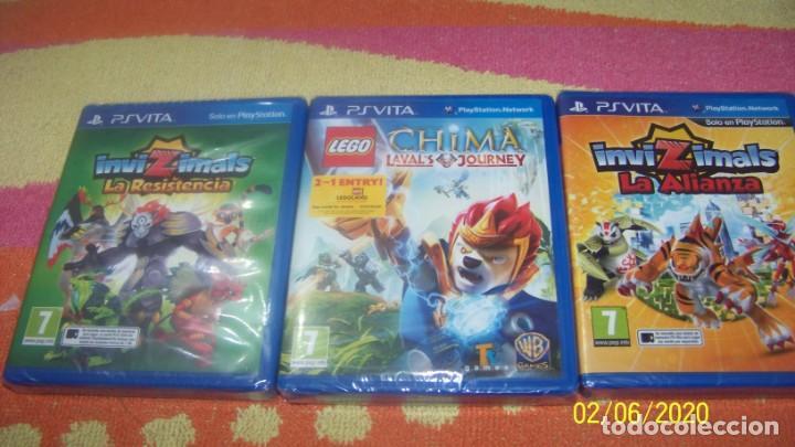 PACK DE 3 JUEGOS PS VITA PRECINTADO PAL (Juguetes - Videojuegos y Consolas - Sony - PS Vita)