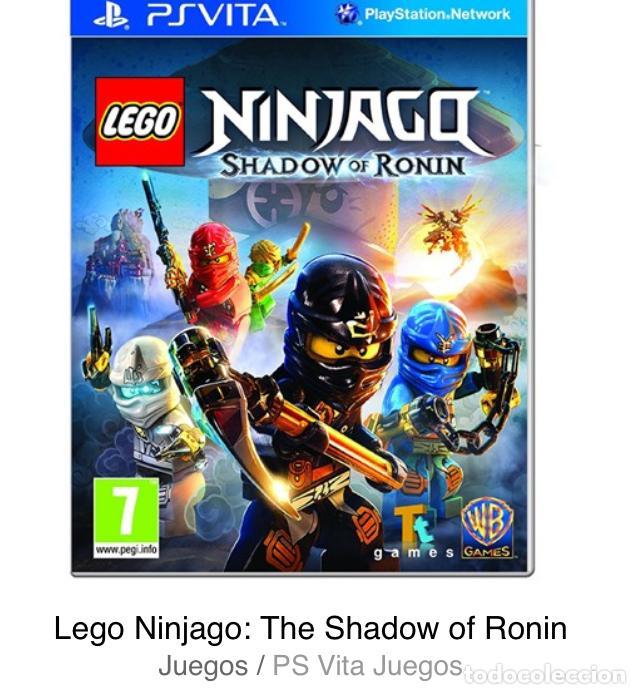 Videojuegos y Consolas PS Vita: LEGO NINJAGO MOVIE GAME EL JUEGO DE LA PELICULA PSVITA PS VITA KREATEN - Foto 3 - 193626487