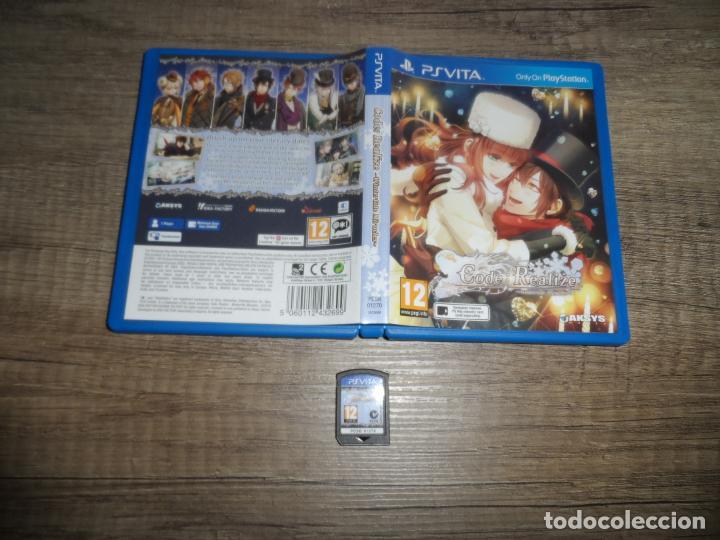 PSVITA CODE REALIZE: WINTERTIDE MIRACLES PAL UK COMPLETO (Juguetes - Videojuegos y Consolas - Sony - PS Vita)