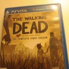 Videojuegos y Consolas PS Vita: WALKING DEAD THE COMPLETE FIRST SEASON PSVITA USA. Lote 197325783