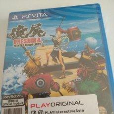Videojuegos y Consolas PS Vita: ORESHIKA TAINTED BLOODLINES PS VITA ASIA INGLÉS PRECINTADO. Lote 197334945