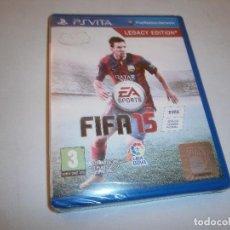 Videojuegos y Consolas PS Vita: FIFA 15 PS VITA PAL NUEVO Y PRECINTADO. Lote 197729520