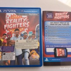 Videojuegos y Consolas PS Vita: REALITY FIGHTERS PSVITA PS VITA KREATEN. Lote 200298195