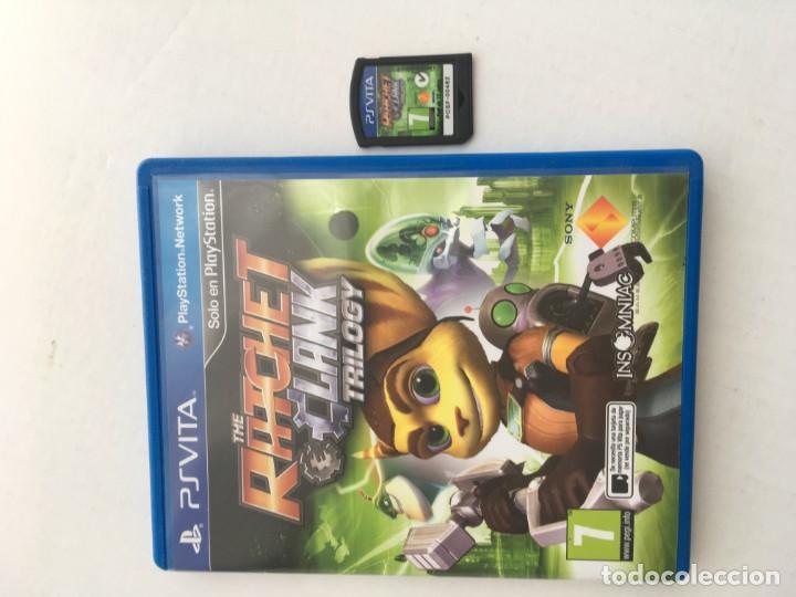 THE RATCHET CLANK TRILOGY PSVITA PS VITA KREATEN (Juguetes - Videojuegos y Consolas - Sony - PS Vita)
