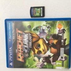 Videojuegos y Consolas PS Vita: THE RATCHET CLANK TRILOGY PSVITA PS VITA KREATEN. Lote 200298537